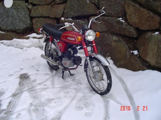 suzuki a50p 4 vitesses