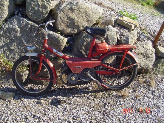 paloma de 1966 avec moteur vap 610