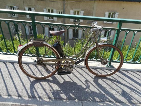 Vélo onoto avec moteur lohmann